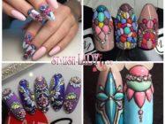 Дизайн ногтей в стиле Sweet Bloom — идеи и варианты