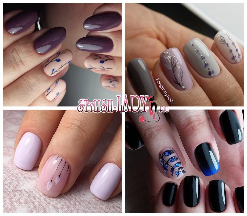 Рисунки на ногтях для начинающих акриловыми красками видео