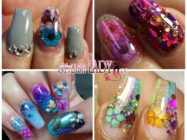 Аквариумный дизайн ногтей — 80 идей с фото