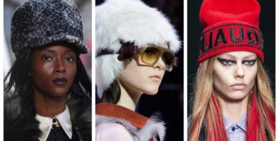 Модные шапки и другие головные уборы осень-зима 2018-2019