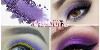 Модный макияж с фиолетовыми тенями — идеи и мастер — класс от визажиста