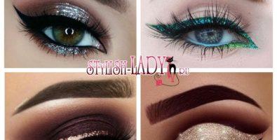 Игривый блеск: как сделать шикарный макияж с глиттером