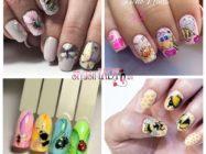 Медовый нейл-арт: пчелки на ногтях