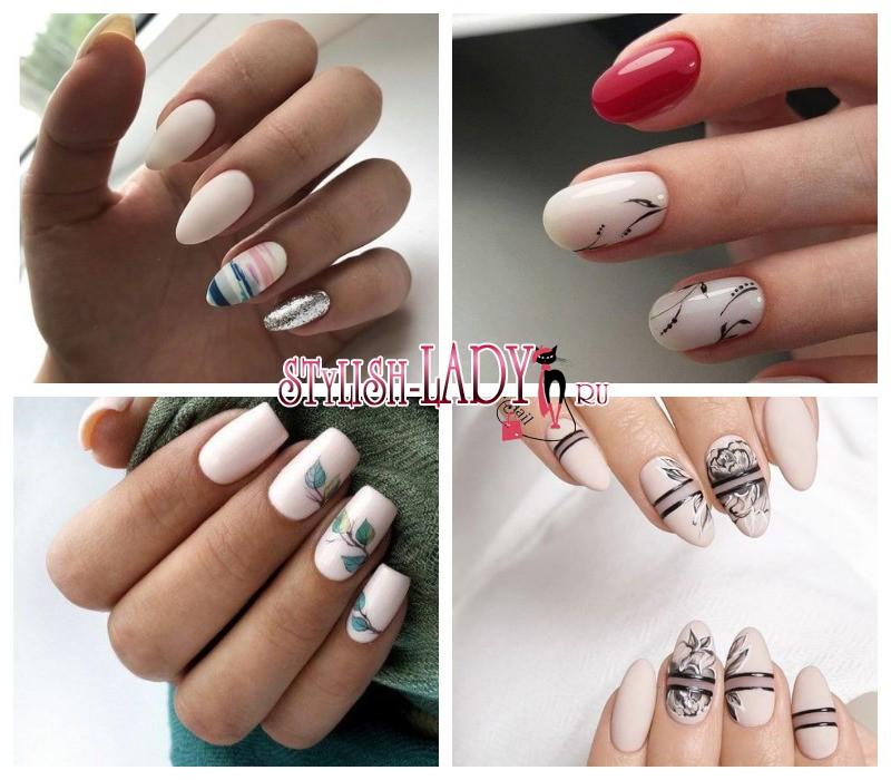 Дизайн На Короткие Ногти Фото Новинки Зима