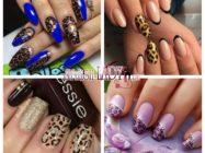 Яркий стиль! Смелый леопардовый маникюр