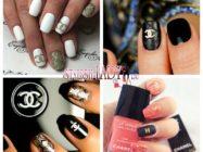 Маникюр Шанель — модный брендовый нейл арт на ногтях
