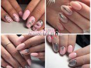 Многогранность розово-серебряного маникюра
