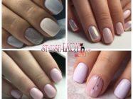 Светлый маникюр на коротких ногтях: стильный дизайн и самые актуальные цвета + примеры на фото