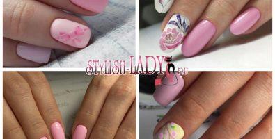 Весенний нежно-розовый маникюр: романтичный и стильный