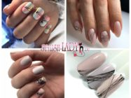 52 идеи модного дизайна ногтей с гель-пастой «Паутинка»