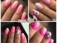 Розовый маникюр омбре: идеальные ногти в любом возрасте