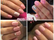 Розовый маникюр на квадратные ногти: идеи оттенков и узоров