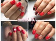 Шикарный ярко-красный маникюр на короткие ногти: вечная классика в новом исполнении