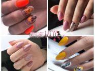 40 идей осеннего маникюра на овальные ногти