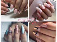 40 модных идей светлого маникюра на длинные ногти