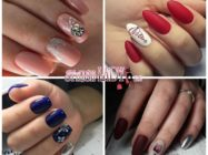 Идеи простых новогодних рисунков на ногтях: красота без лишних усилий