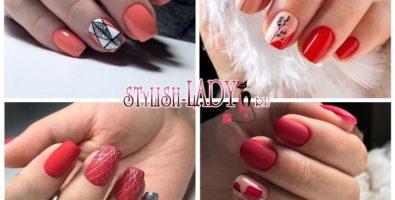 Красный маникюр 2021 – модные тенденции и новинки