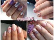 Цветочные мини-рисунки на ногтях — летние варианты для любительниц минимализма