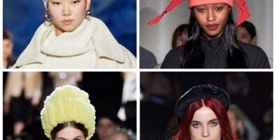 Модные шапки зимы 2020/21 — 3 идеи с подиумов
