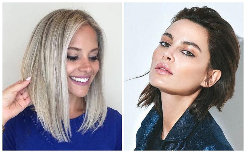Модные женские стрижки 2022 на средние волосы с челкой и без челки